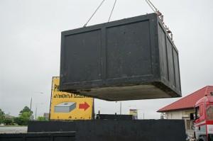 szamba betonowe na placu 2