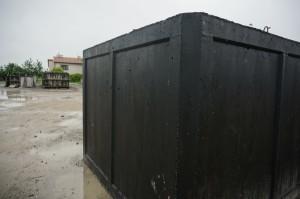 szamba betonowe na placu